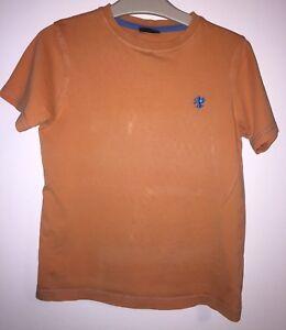Boys Age 7 (6-7 Years ) Next Orange T Shirt Top