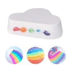 3*Bubble Bath Bombs Ball  Rainbow Bath Salt Natural Skin Care Cloud Moisturizing