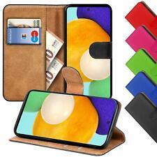 Schutzhülle für Samsung Galaxy Handy Tasche Slim Flip Case Book Cover Wallet
