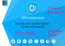 KeepSolid VPN 165+ days access 5 devices Unlimited traffic