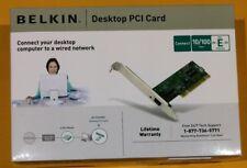 BELKIN 10/100 NETWORK ADAPTER DESKTOP PCI CARD ETHERNET P57328