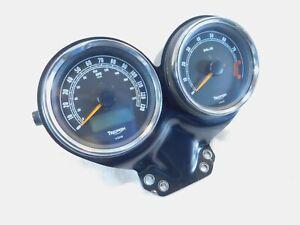 2009-2014 Triumph Bonneville T100 Instrument Cluster Speedometer & Tach Gauges