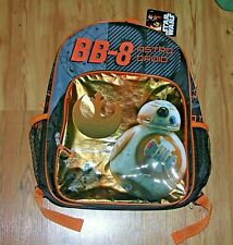 "Disney Star Wars The Force Awakens BB-8 Astro Droid 16"" Backpack"