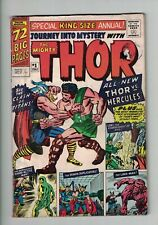 Marvel Comics Thor Journey into Mystery King Size Annual No 1 1965 1st Hercules