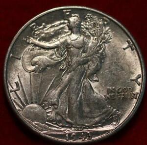 1943-D Denver Mint Silver Walking Liberty Half