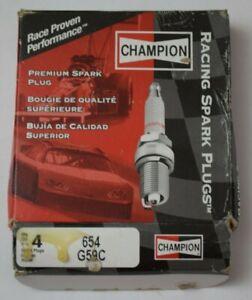 4 x Champion Premium Spark Plug - Race Proven - 654 G59C - New