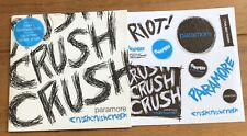 "Paramore – Crush 7"" Vinyl & Sticker Sheet"