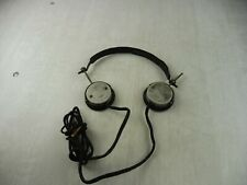 Ancien casque radio militaire WW2, Kymos Unic; Made in France