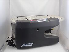 Martin Yale 1711 Ease-of-Use Automatic Setting Paper Folding Machine Used