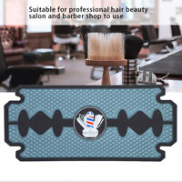 PU Silicone Barber Salon Anti-Slip Mat Hairdressing Scissors Combs Clippers Pad