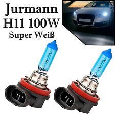 2x Jurmann H11 100W 12V hell Weiß Xenon Look Ersatz Scheinwerfer Halogen Lampe