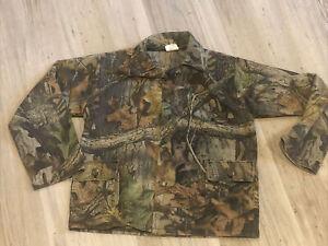 Vintage Realtree Advantage Timber Camo Button Down Long Sleeve Shirt Boys M / 12