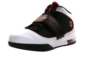Nike Lebron 407707 100 Zoom Soldier IV 4 Men's Shoes White/Red-Black Metallic 11