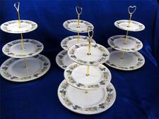 Fine Bone  China  1 x 3 Tier Cake Stands For HIRE  Fruits Doulto Weddings Teas