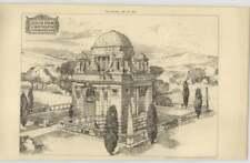 1897 Design For A Mausoleum By John Belcher Architect