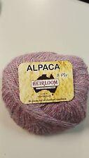 Heirloom Alpaca 8 Ply #969 Tea Rose 100% Alpaca  50g
