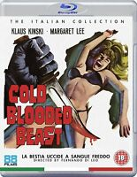 COLD BLOODED BEAST (La Bestia Uccide a Sangue Freddo) BLURAY in Italiano NEW .cp