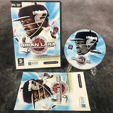 Brian Lara International Cricket 2007 PC Game Complete DVD Rom Cricket World Cup
