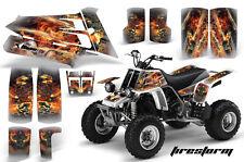 AMR Racing Yamaha Banshee 350 Decal Graphic Kit ATV Quad Wrap  87-05 FIRESTORM S