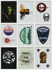 2015 Cryptozoic Arrow Season 2 Complete Set of 9 Sticker Chase Cards #S1-#S9