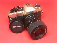 Nikon FM10 with 35-70mm 3.5-4.8 zoom lens