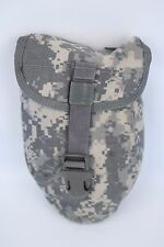 Military E-Tool Carrier Shovel ACU Pouch Molle II Camouflage Entrenching