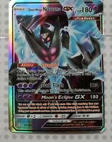 Pokemon card Dawn Wings Necrozma GX 90/138 HOLO FULL ART Mint PROXY CARD