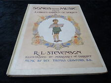 Songs with Music by R.L. Stevenson, Illustrated by Margaret W. Tarrant  Hardback