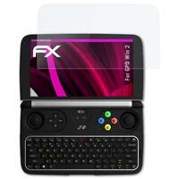 atFoliX Verre film protecteur pour GPD Win 2 9H Hybride-Verre