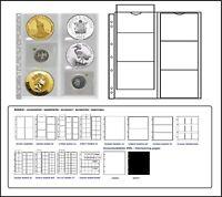 1 x Leuchtturm 330456-L MÜNZHÜLLEN NH6 NUMIS 55 Für Münzen bis 55 mm