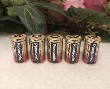 Panasonic Photo Power CR2 Lithium Ion 3v Battery Set Of 5 New Exp 1/2027
