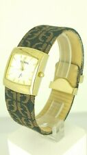 Fossil SI2010 ladies watch gold plated case SI-2010 analog 3 ATM