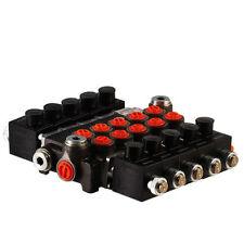 5 spool hydraulic solenoid directional control valve 13gpm 12VDC, monoblock