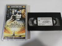 LA HISTORIA Infinita II George Miller VHS Tape Castellano