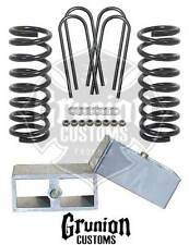 CHEVY S10 2/3 DROP KIT COILS BLOCKS MCGAUGHYS 33106