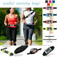Sports Useful waist Belt Mobile Phone Holder Bag Running Gym WaistBand Exercise
