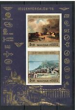 IMPERF block  of Hungary 1976 # BL 117   MNH TOURISM