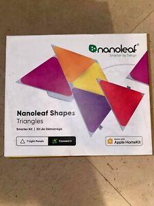 *NEW* Nanoleaf 7pk Shapes Triangle Smarter LED Light Kit - NEW IN BOX SEALED