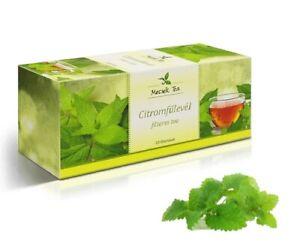 Lemon Balm Natural Premium Herbal Tea 25 Teabags - Melissae Folium