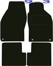 Saab 9-3 Convertible DELUXE QUALITY Tailored mats 1998 1999 2000 2001 2002 2003