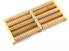 Natural wooden 5 rows foot massage healthy good rest pain relief