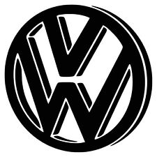 VW Vinyl Bumper Sticker VW Camper Car Decal (Choice of Colours)