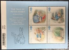 Tale Of Peter Rabbit Mini Sheet, Royal Mail Beatrix Potter Mint Picture Stamps
