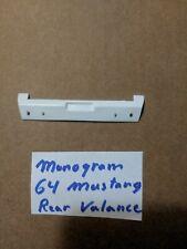 MONOGRAM 64 FORD MUSTANG REAR VALANCE NEW UNUSED!!!!!