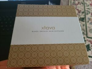 xtava Black Orchid Large Hair Diffuser For Curly and Natural Hair - Professional