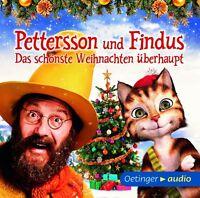 SVEN NORDQVIST - PETTERSSON UND FINDUS-DAS SCHÖNSTE WEIHNACHTEN   CD NEU