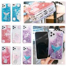 Cartoon Starfish Mermaid Quicksand Phone Case For iPhone 11 Max X XR XS 7 8 Plus
