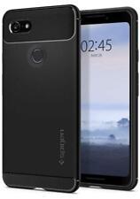 Coque Google Pixel 3 Cover Etui Anti-Choc Résistante Souple Fibre de Carbone FR