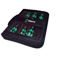 Wera Kraftform 6 Piece Laser Tip Screwdriver Set, Slot, PZ, PH, & Wallet, 344580