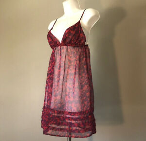 I LOVE H81 by FOREVER 21 Intimates Red Lingerie Night Gown Size  S / Petite